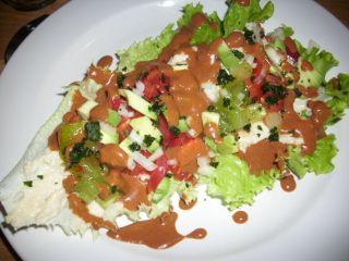 Salade façon tortilla mexicaine