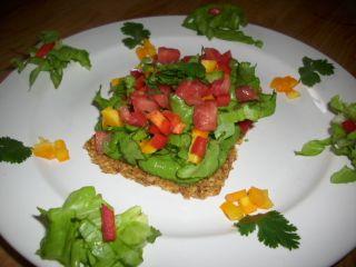Tostadas aux épinards 1