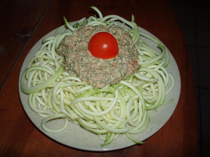 Spaghettis de courgette - 1 - P4022921