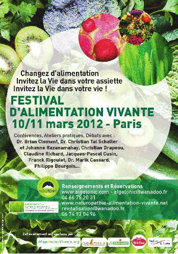 Festival Alimentation vivante 2012