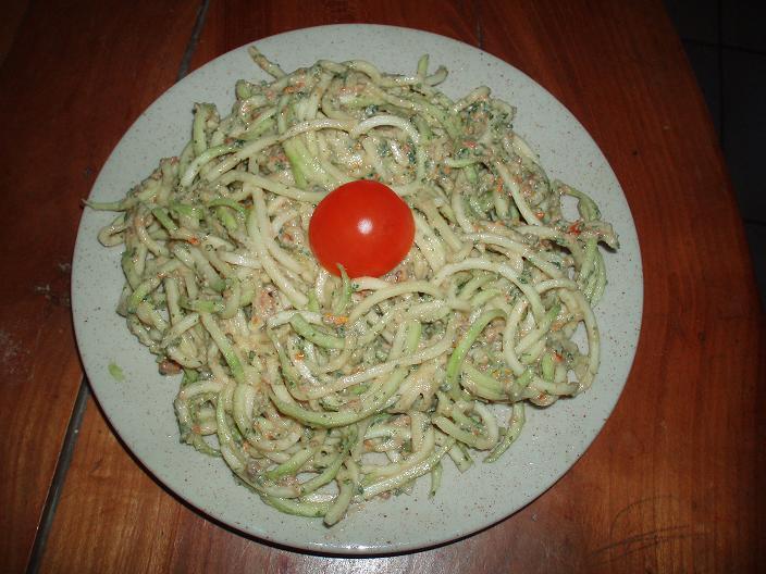Spaghettis de courgette - 2 - P4022928