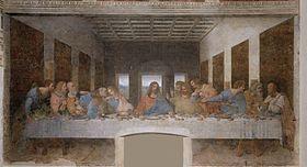 Cène - Léonard de Vinci
