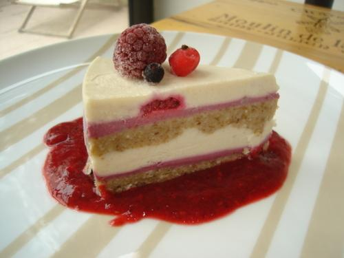 Gâteau à la framboise2