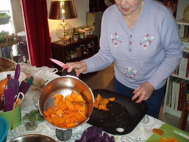 Pont aux oies 14 - Courge pour la soupe aux orties