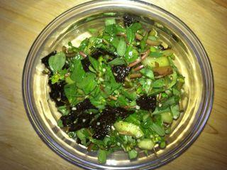 Salade concombre nori3