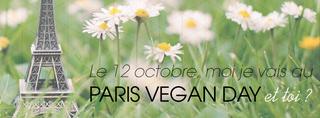 Bannière Paris Vegan Day