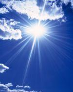 Soleil Ciel bleu