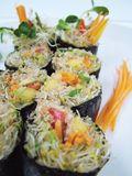 Chantale Roy Sushi cru vegan paté noisette olive