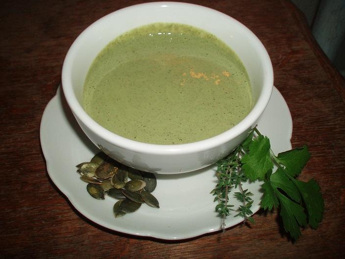 Sauce salade crémeuse aux graines de courges